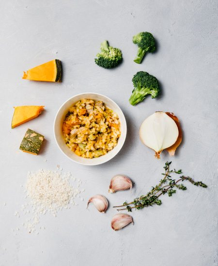 Chicken Risotto with Pumpkin and Broccoli - Bio Bambino