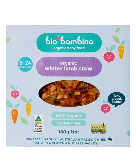 Winter Lamb Stew - Bio Bambino